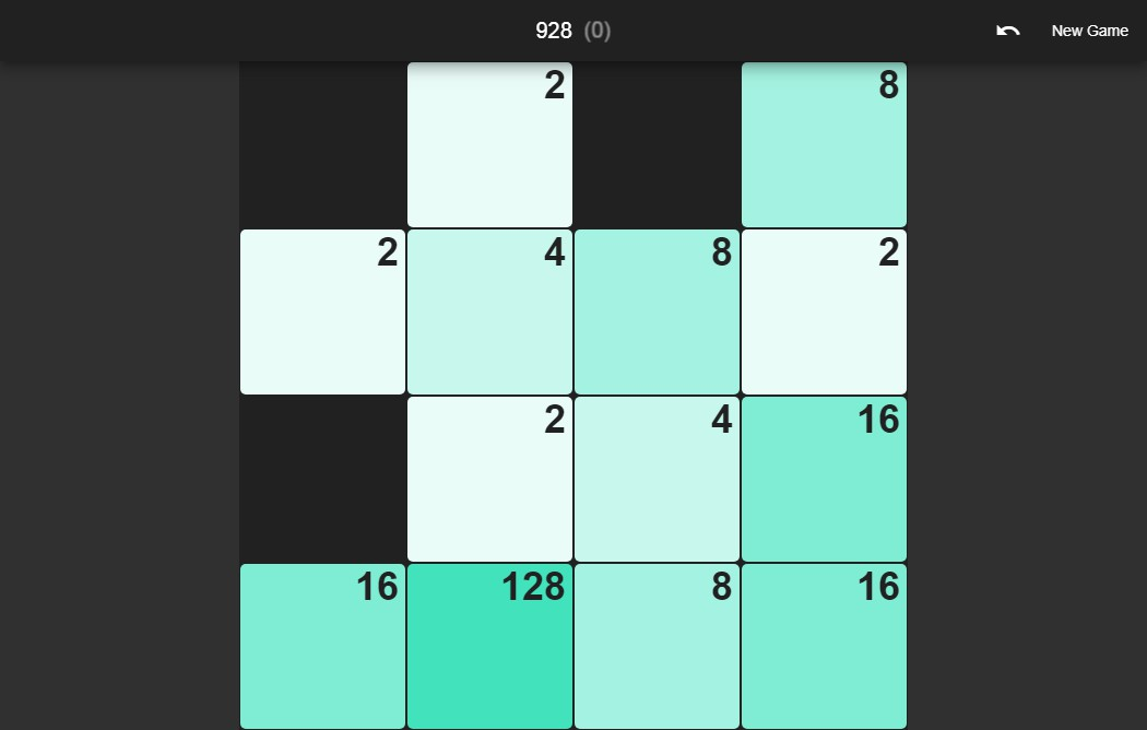 2048 game with flutter