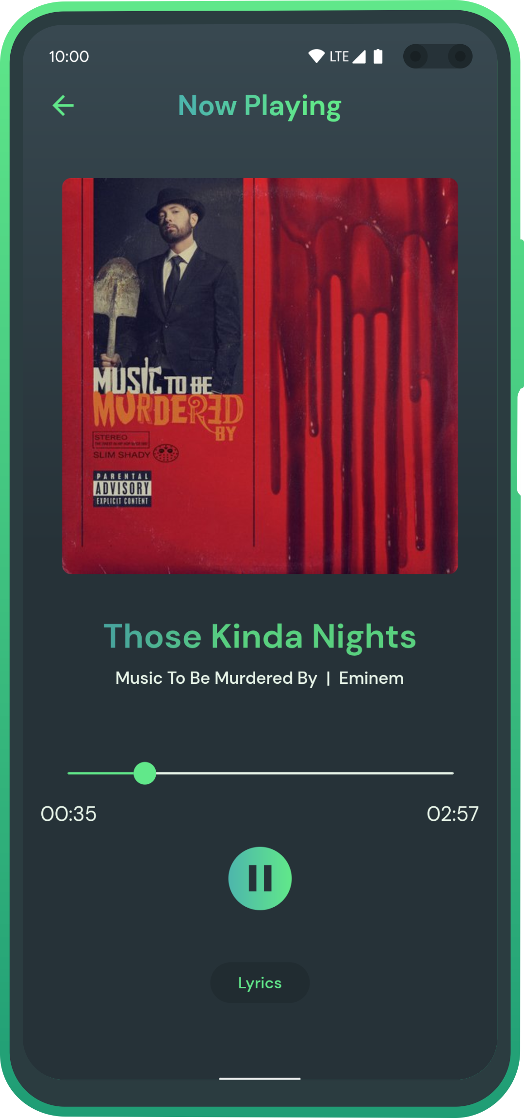Music Streaming and Downloading app made in Flutter