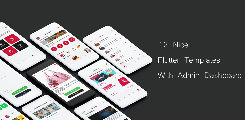 12 Nice Flutter Templates With Admin Dashboard