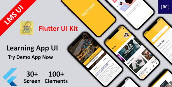40 Beautiful Flutter UI Themes For Developers