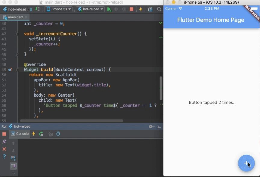 An IntelliJ plugin for Flutter development