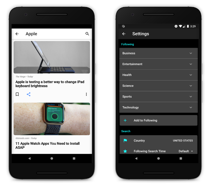 A Fully Customize & Personalize News App