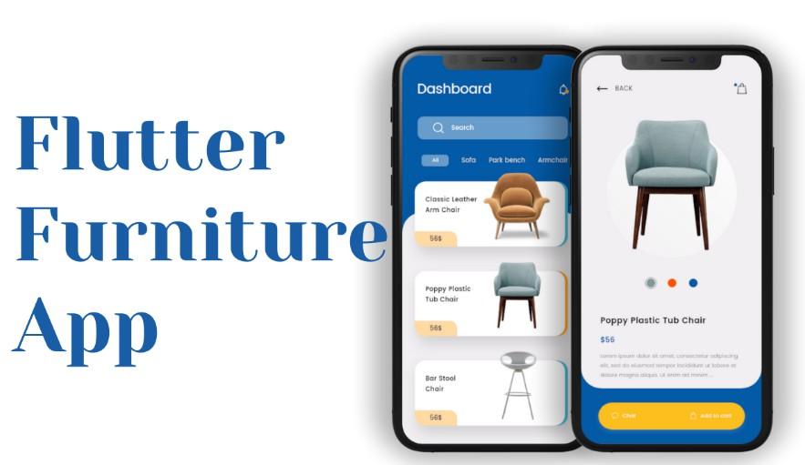 A Nice Flutter Furniture App