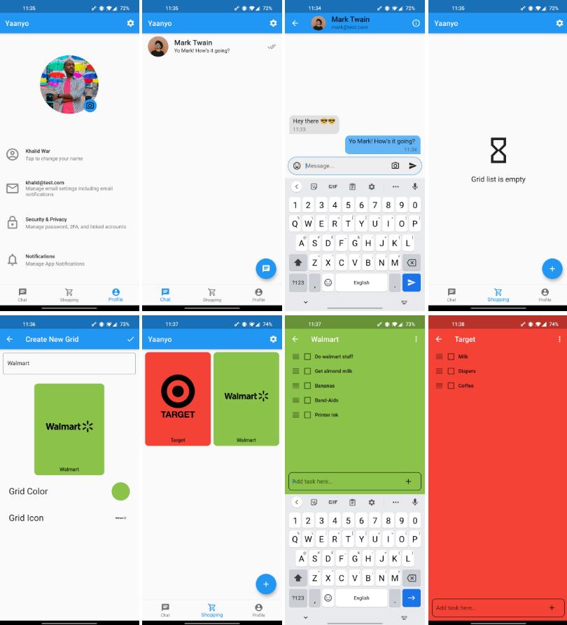 A flutter mobile app utilizing firebase