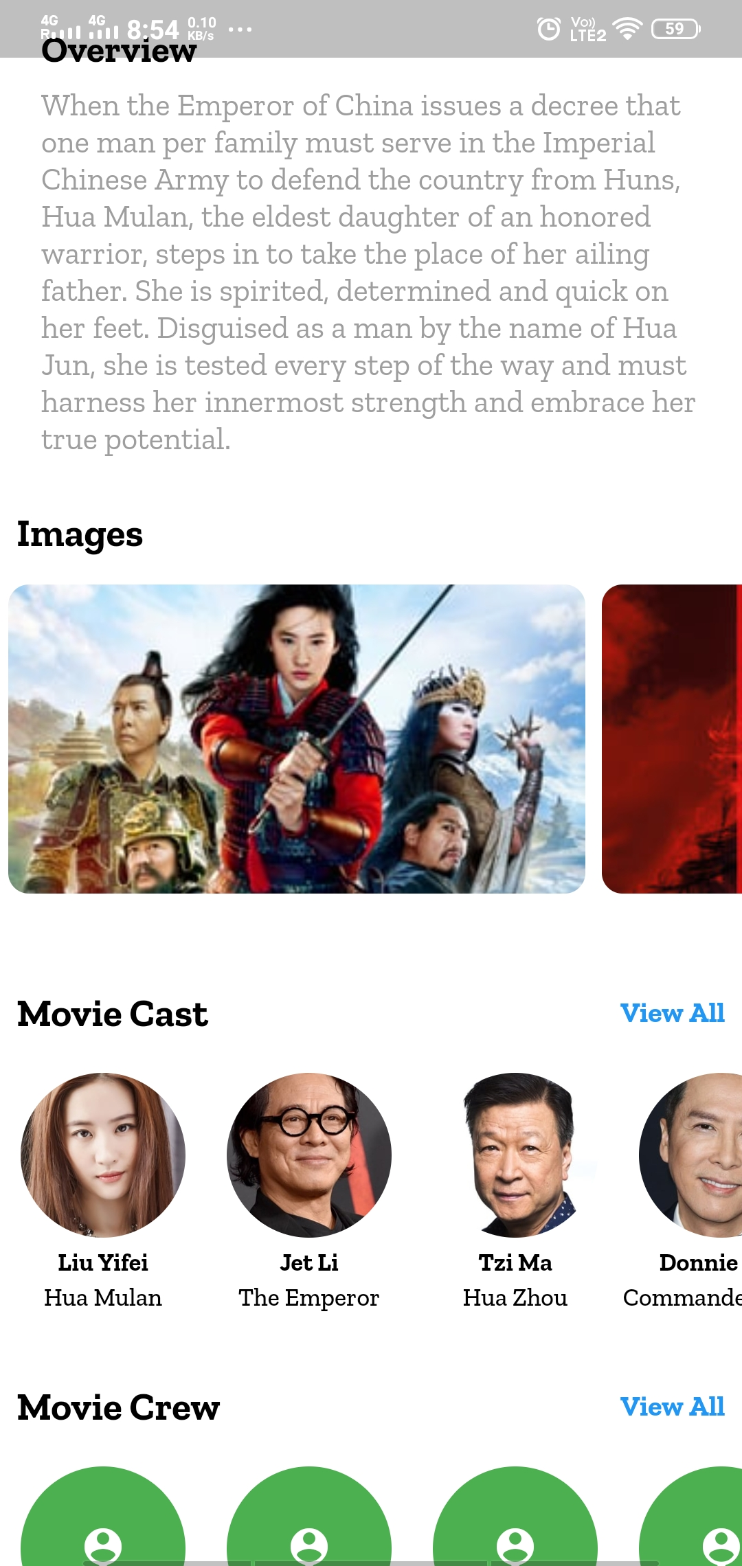 A fetch latest upcomming movies app with flutter