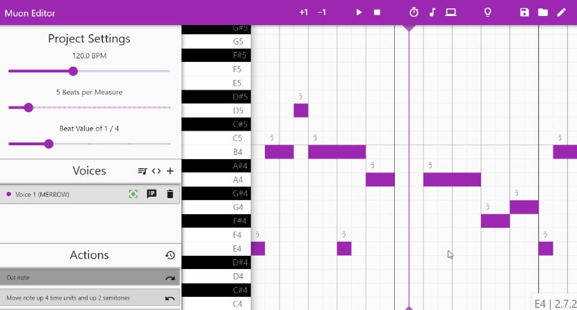 A GUI for the Neutrino neural singing synthesizer with Flutter