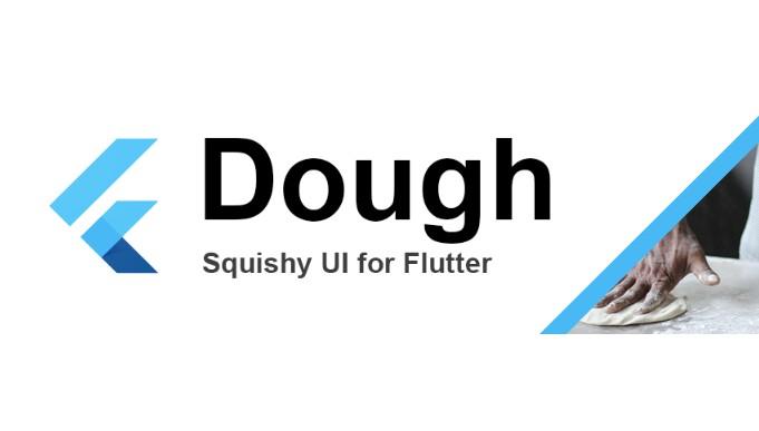 Create a smooshy UI for flutter