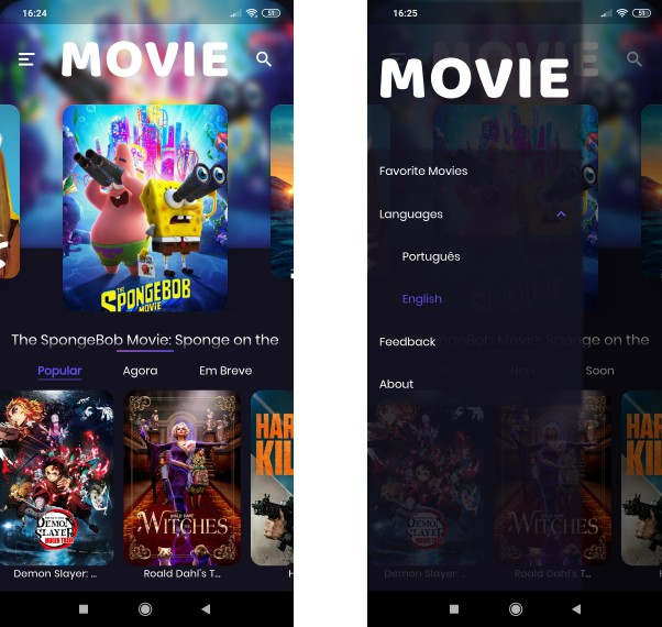 A movies app made with Flutter