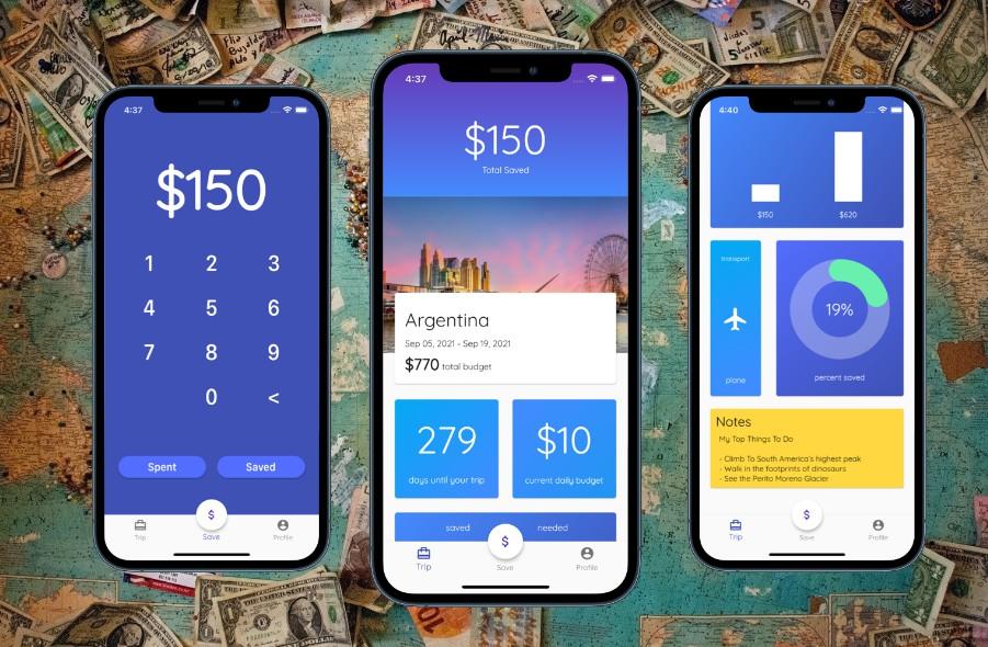 Building a travel budget app using Flutter