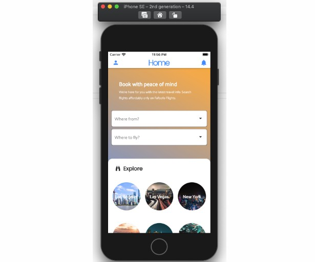 A Flight booking/reservation app built with Flutter