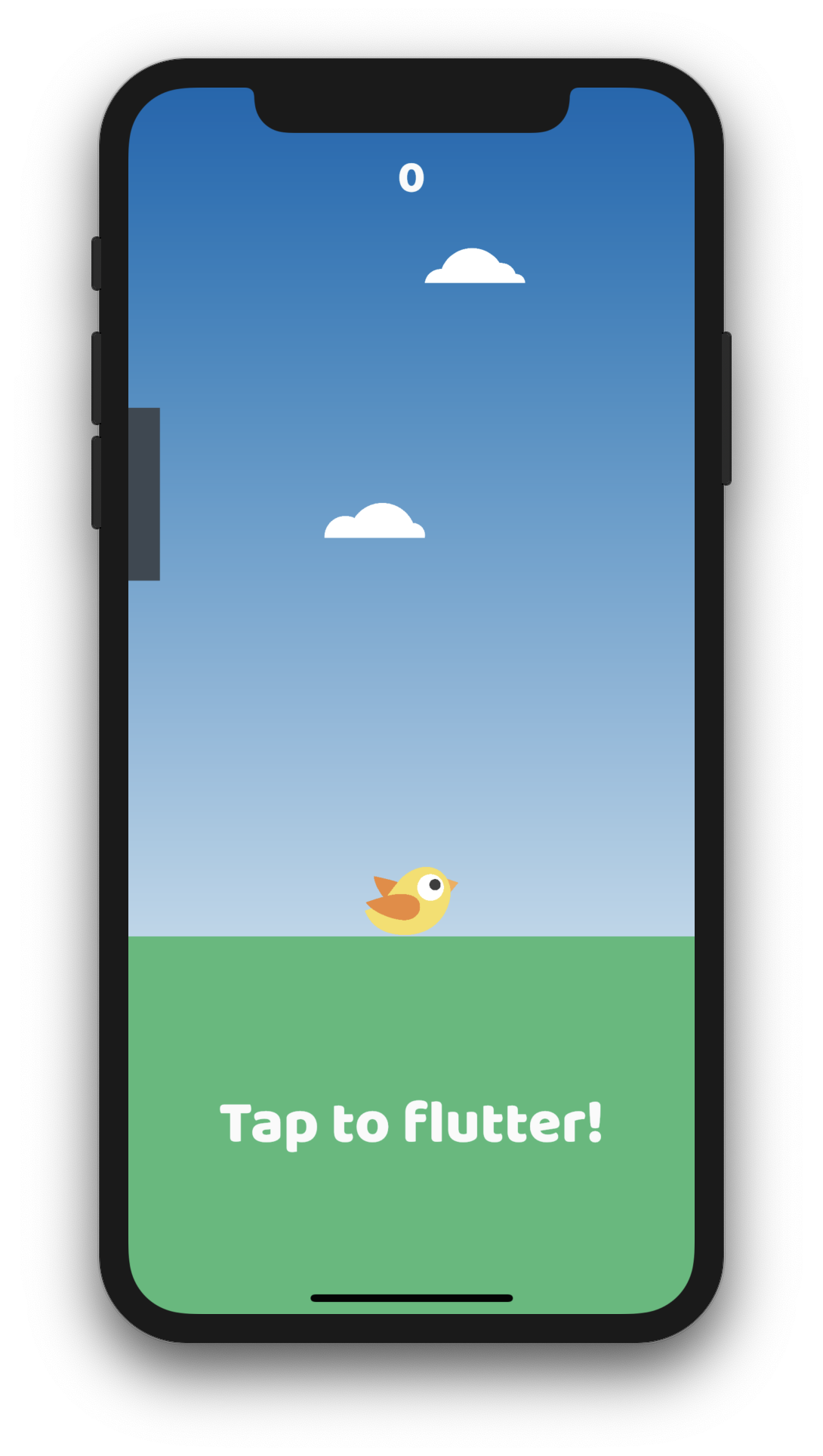 A game build with Flutter and Flame