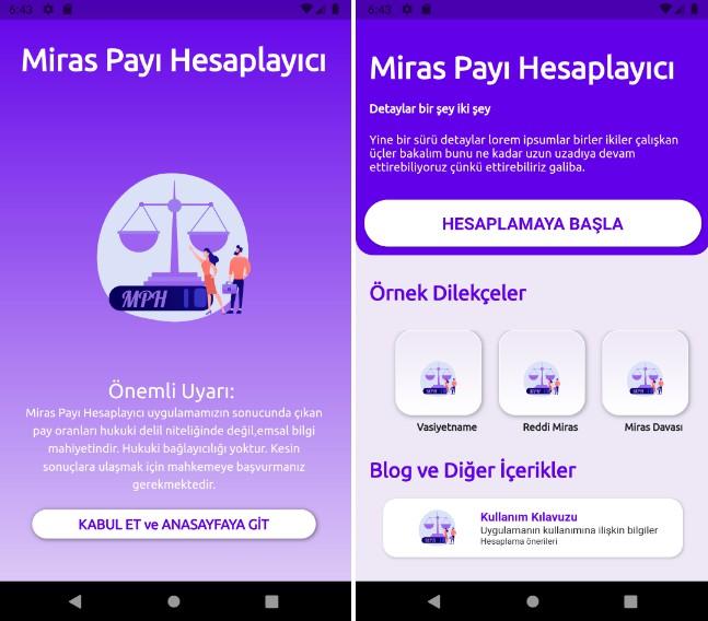 Flutter based UI for legal inheritance share calculator