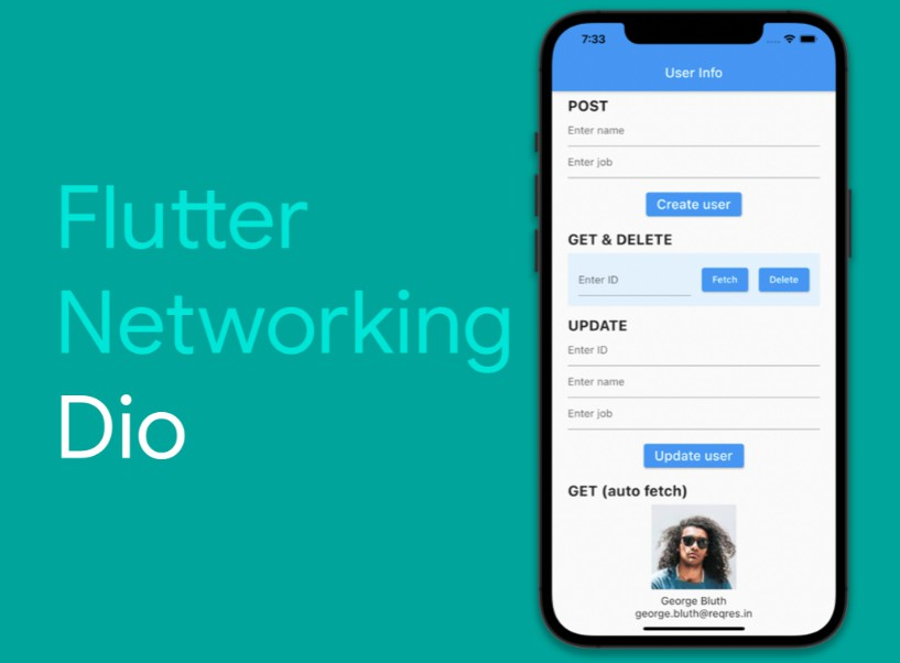 A Flutter app for demonstrating how to perform network requests using the Dio package