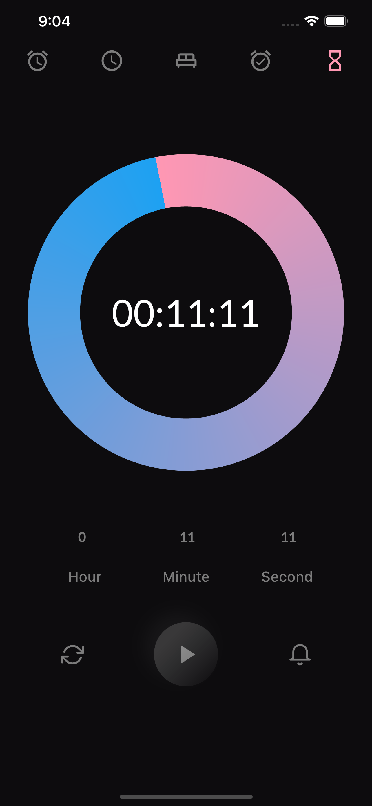 A Nice Clean Analog Clock App UI With Flutter