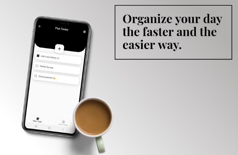 The Tasko App made with Flutter