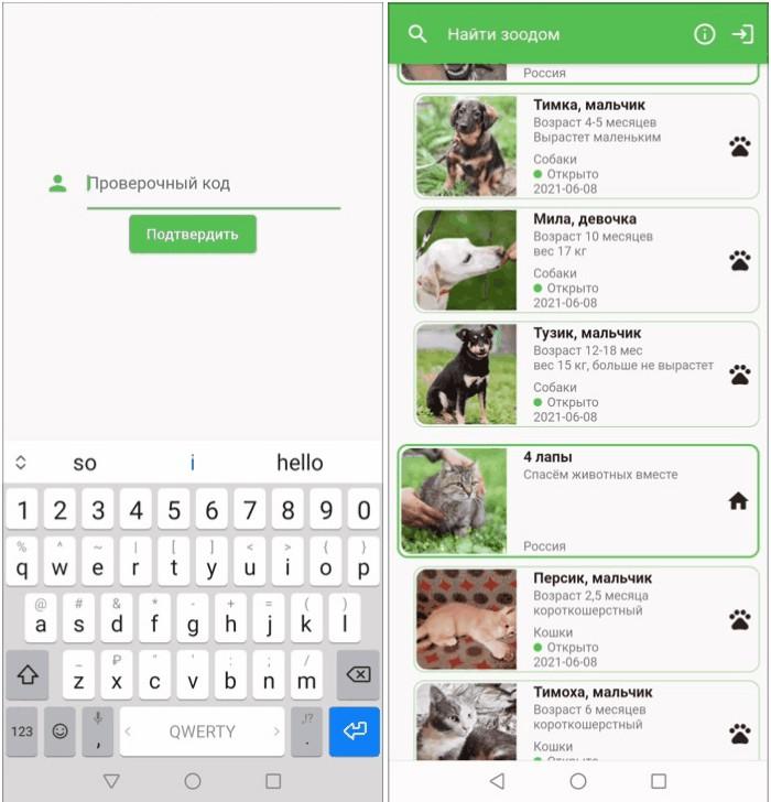 Flutter cross-platform app with AWS integration