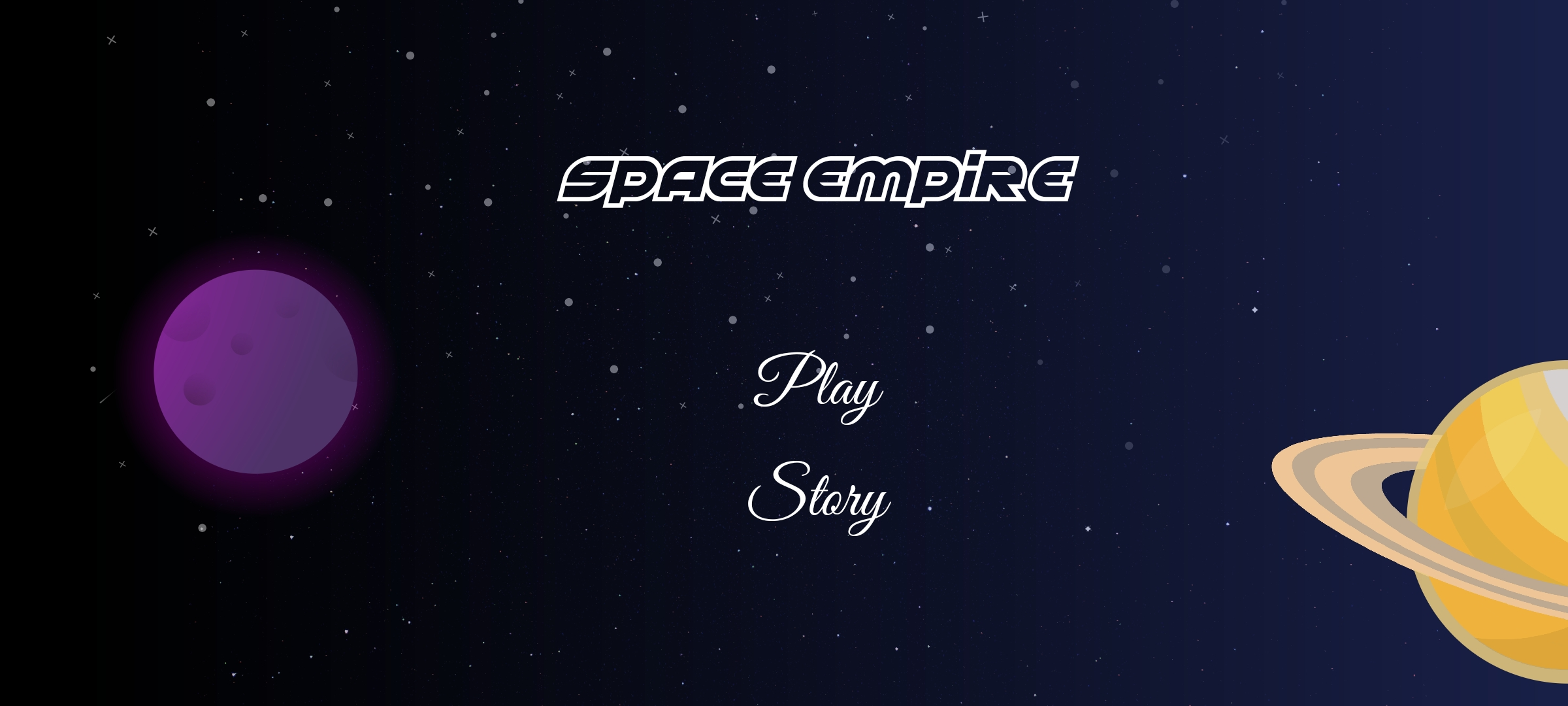 Space Themed Turn-Based Strategy Game developed in Flutter