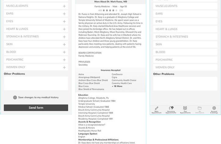 A complete app developed in Flutter and SQL Server