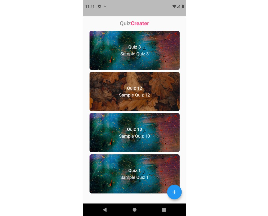 Quiz App to conduct online quiz developed with flutter