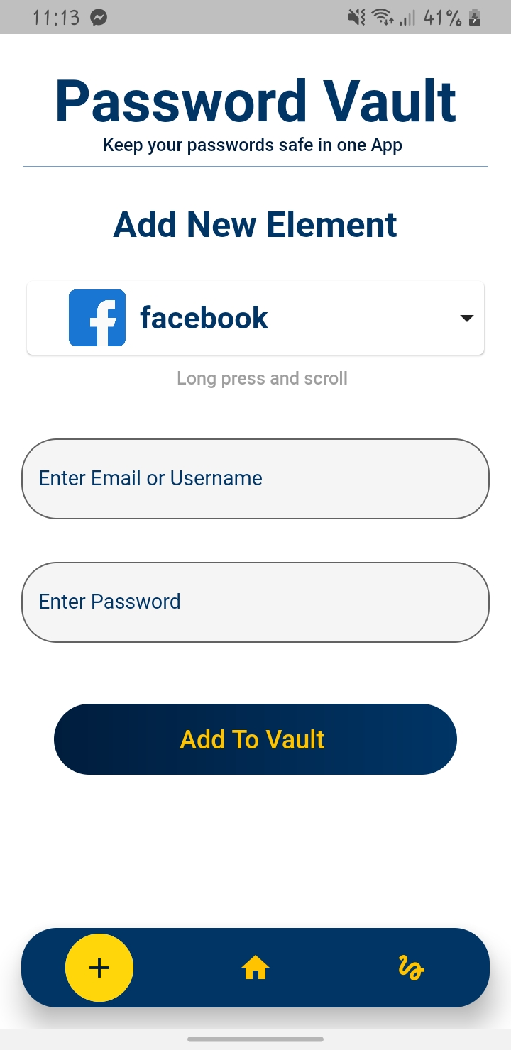 Keep And Save Your Password In One App Build With Flutter