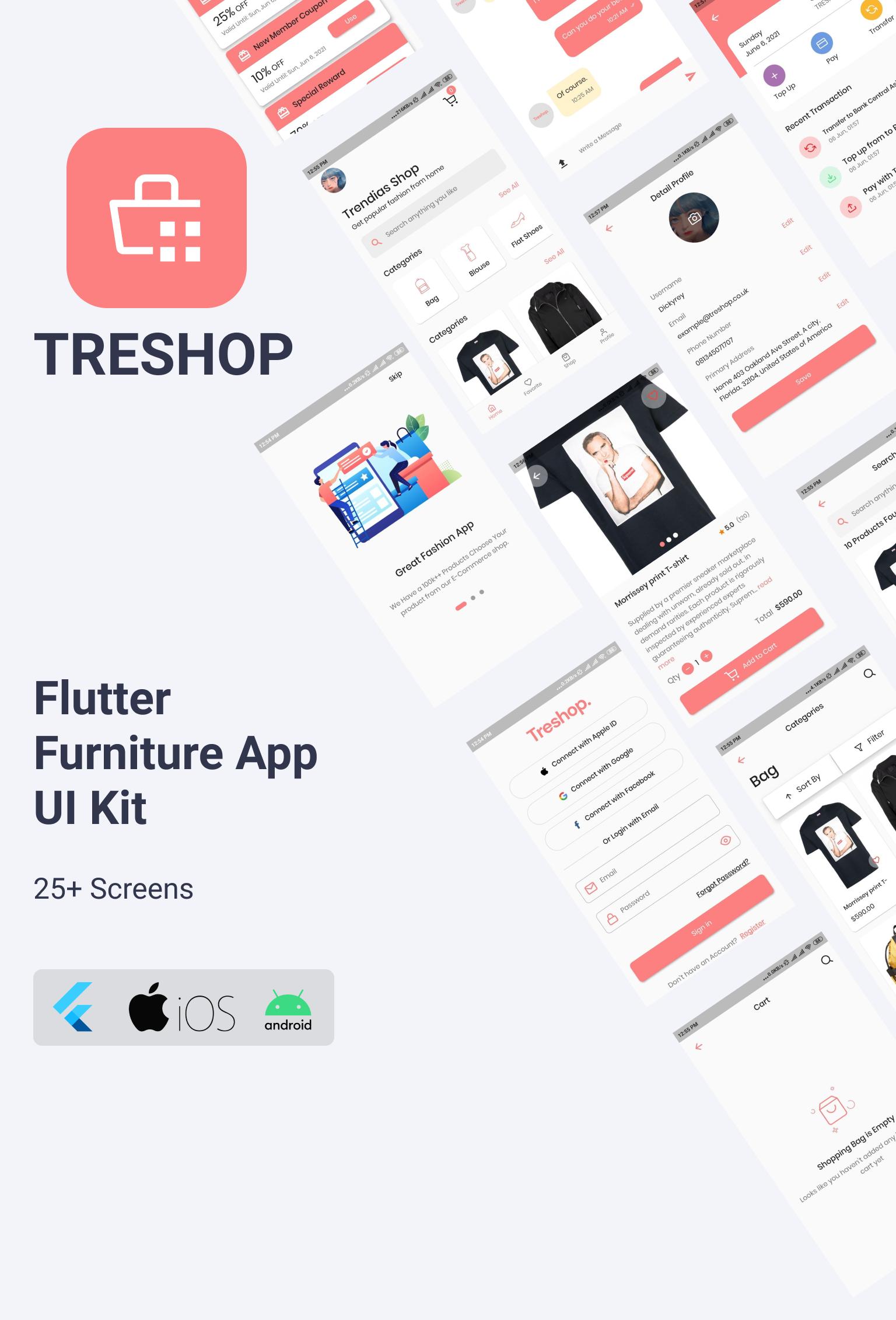 18 Best Flutter UI Kit Templates of 2021