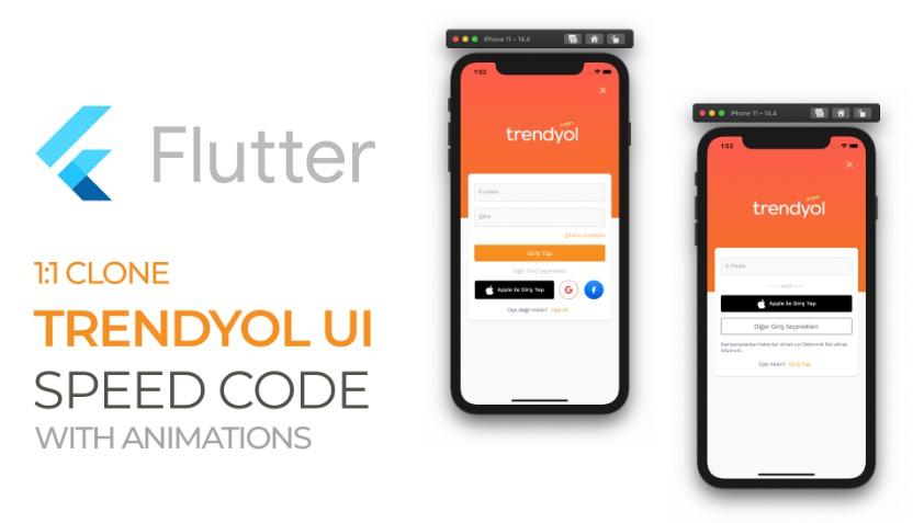 Ecommerce Platform Trendyol UI Clone with flutter