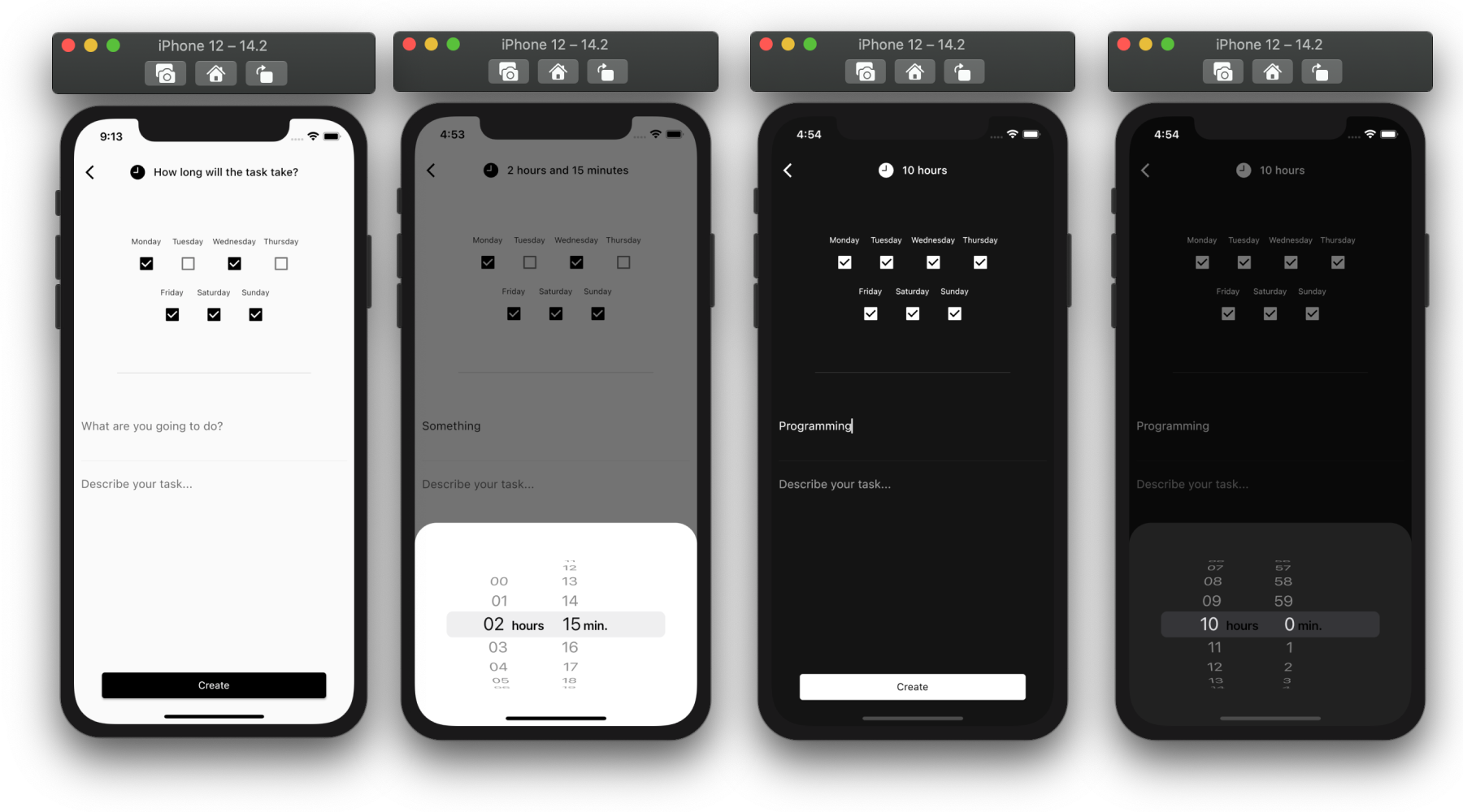 A minimalist and powerful time management app build with flutter