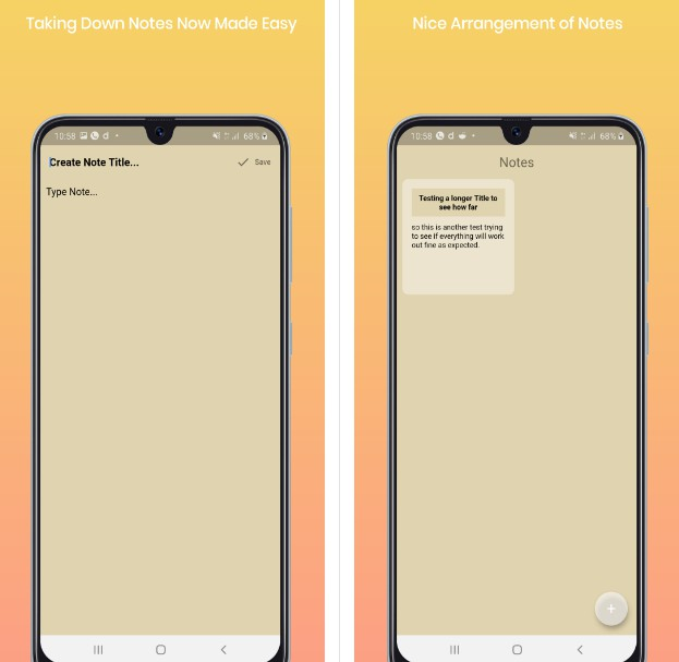 SImple Note App using Hive and Flutter