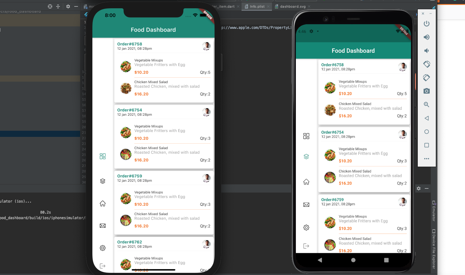 A Serverless mobile application built with AWS and Flutter