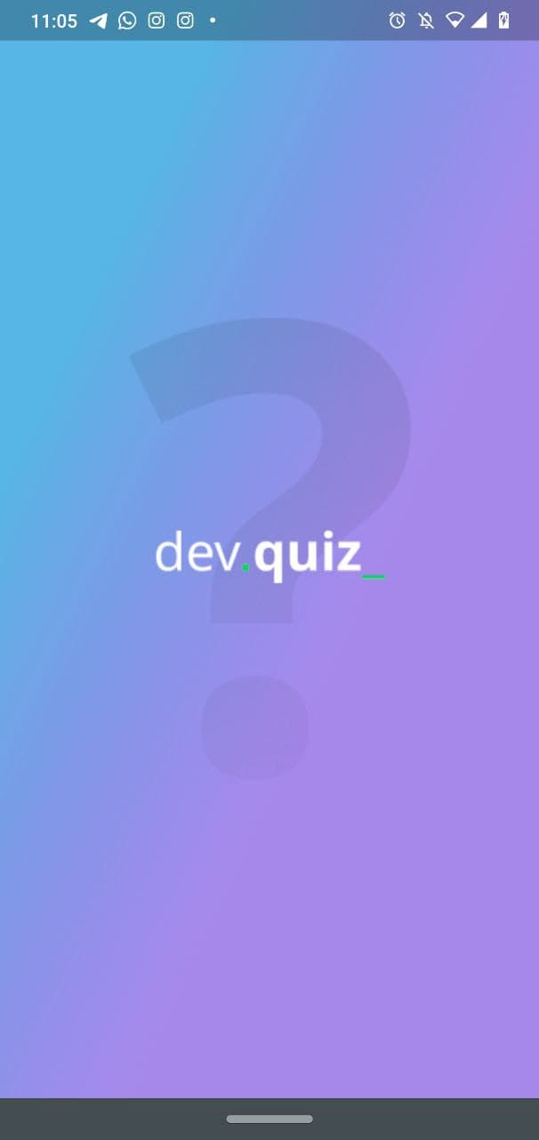 A Flutter app that goals to build a quiz about programming subjects