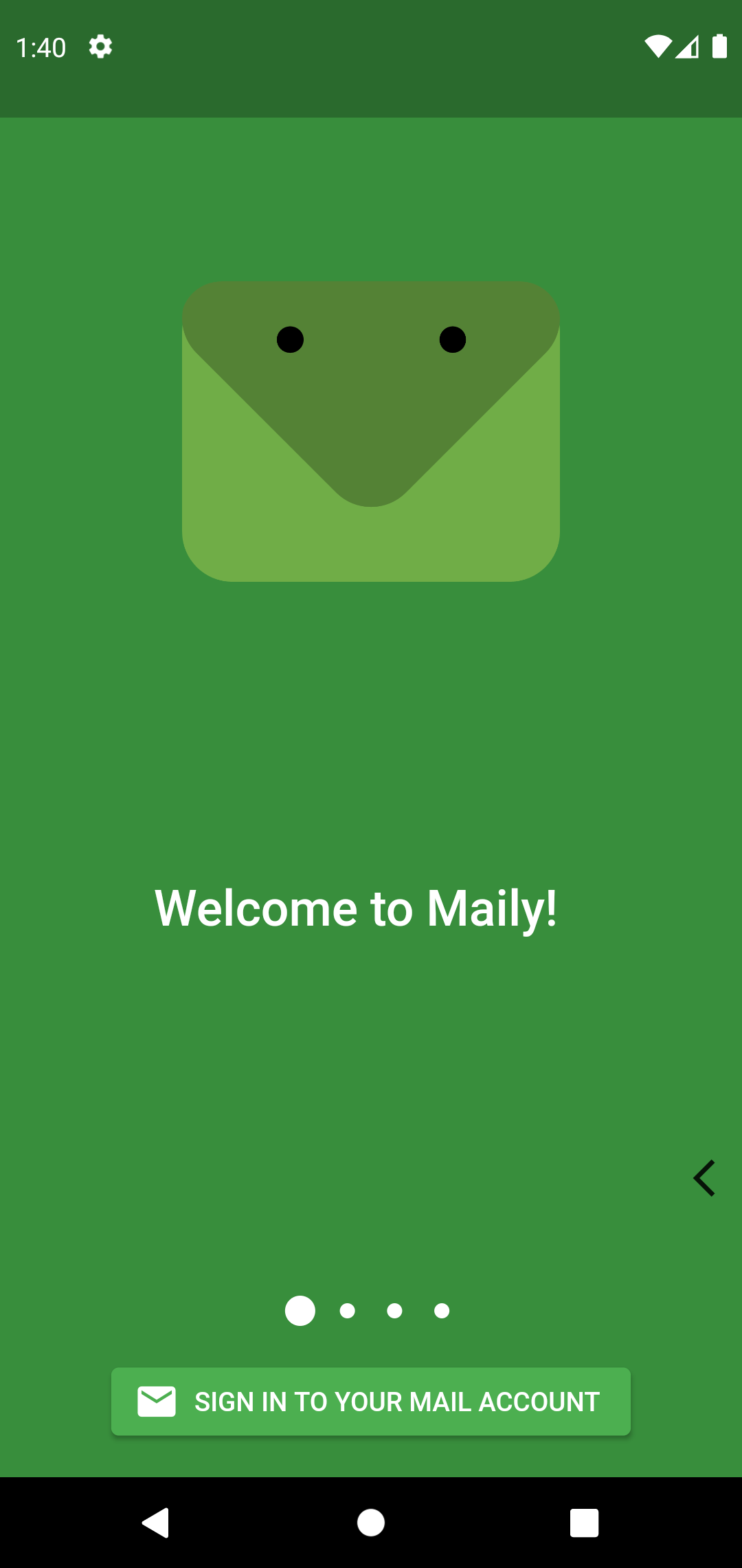 A Mail app for iOS and Android build in Flutter