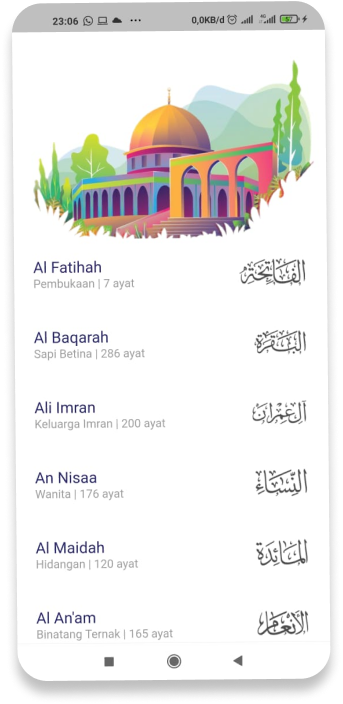 A free Quran app build with flutter