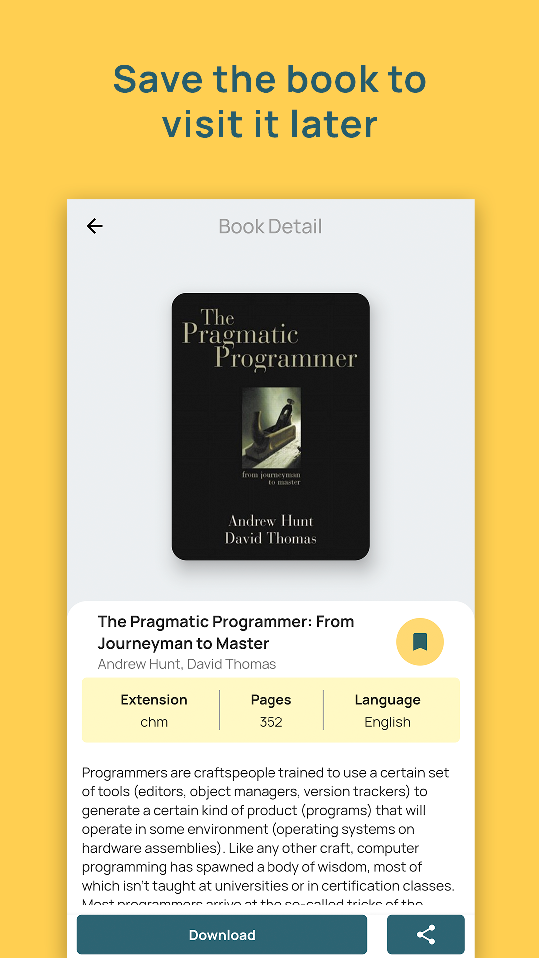 A Mobile Application to Download Books In Flutter