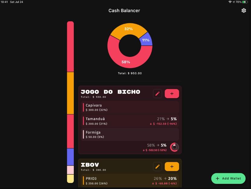 Cash Balancer App Build With Flutter