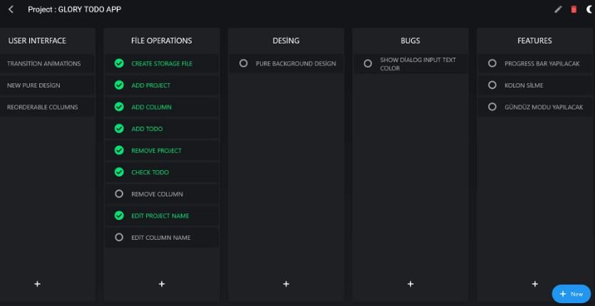 Desktop Todo App Build With Flutter