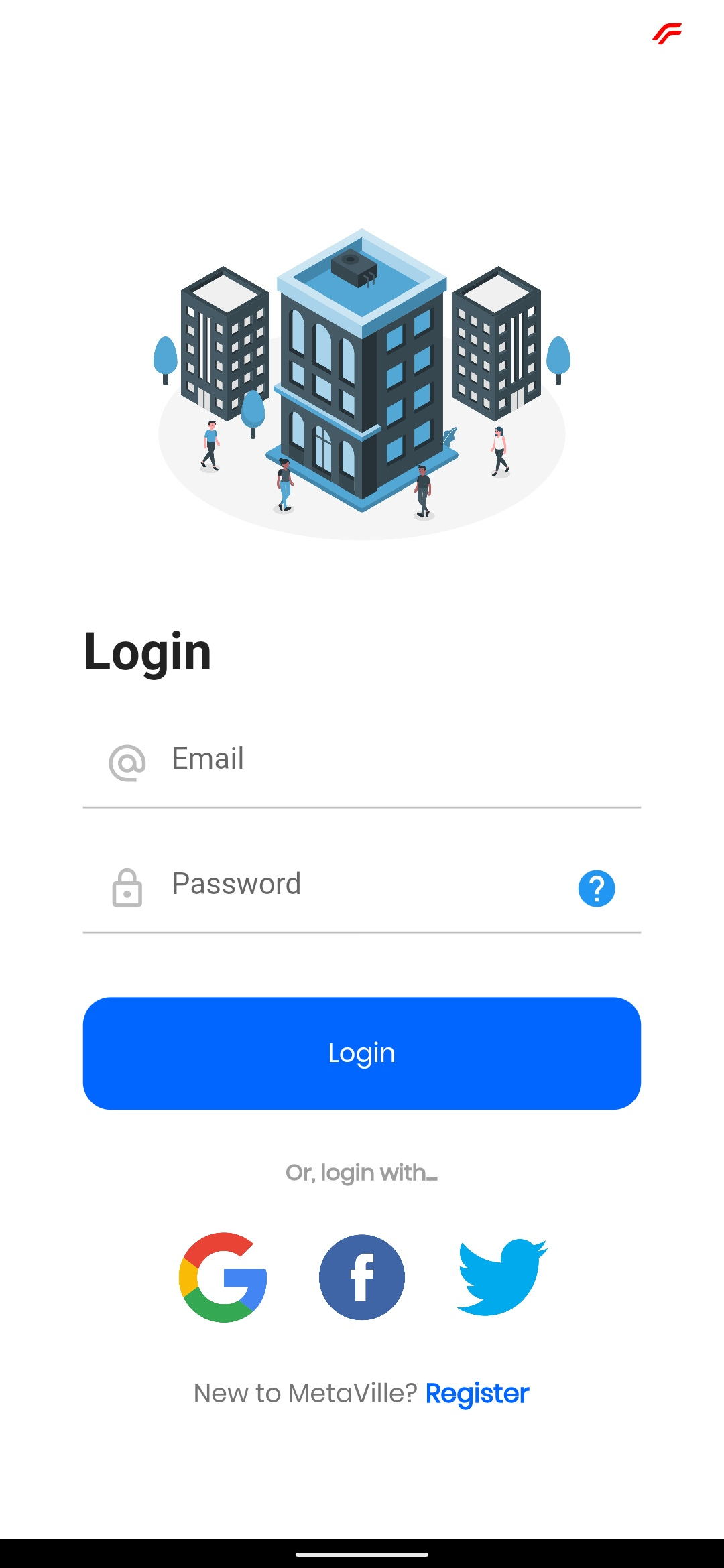 A residential management app build with flutter