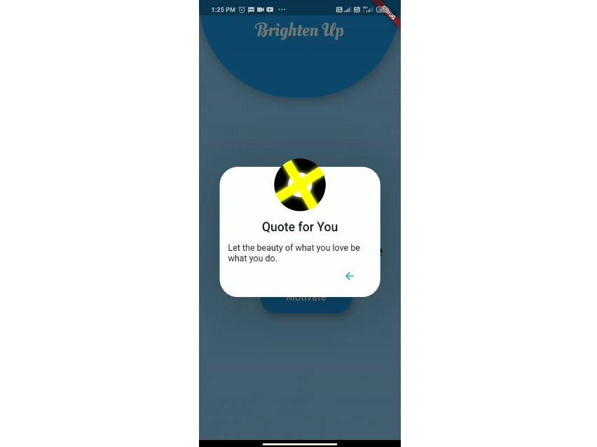 Speaking Motivational App Build With Flutter