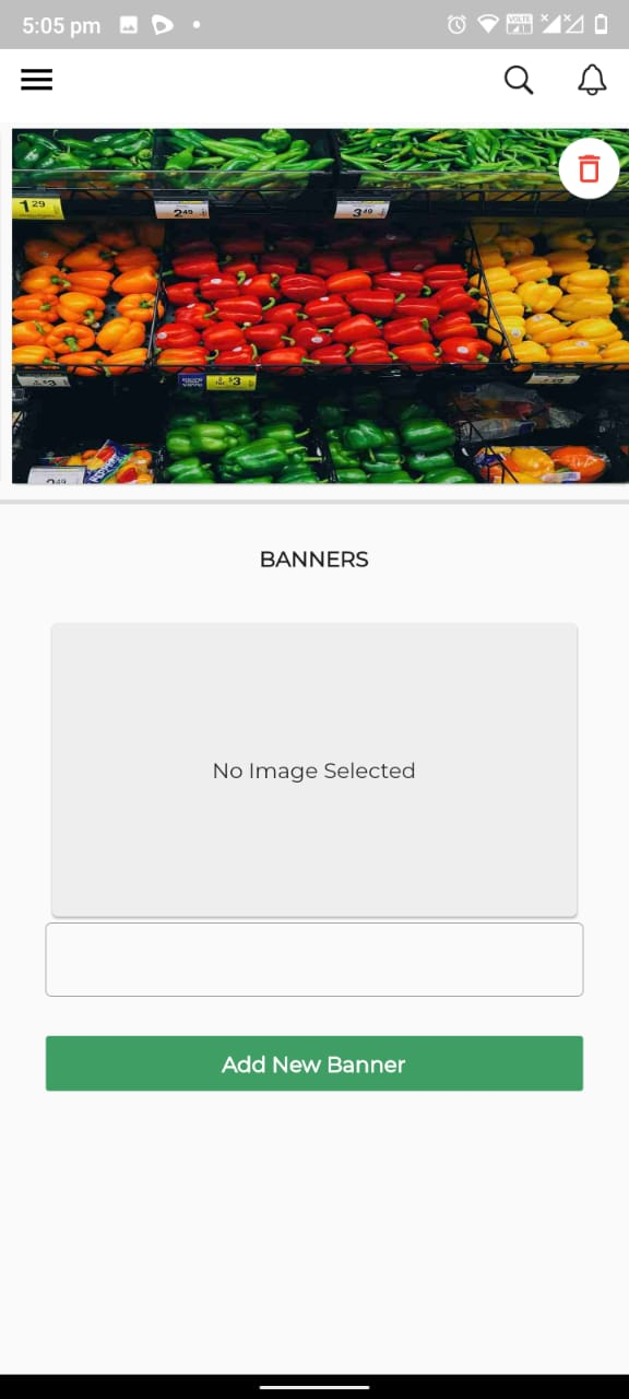 A complete grocery store developed with Flutter