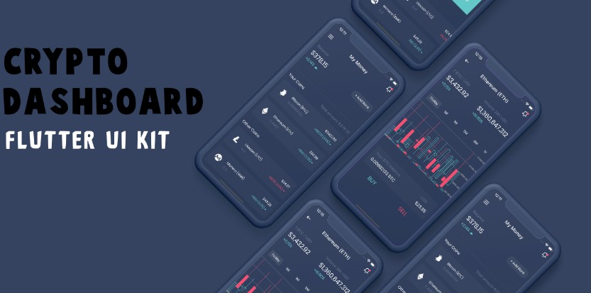 A Free Crypto Dashboard Flutter UI Kit