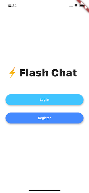 A simple chat application using Flutter framework and Firebase cloud