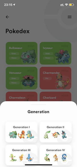 Pokedex app built with Flutter using Clean Architecture