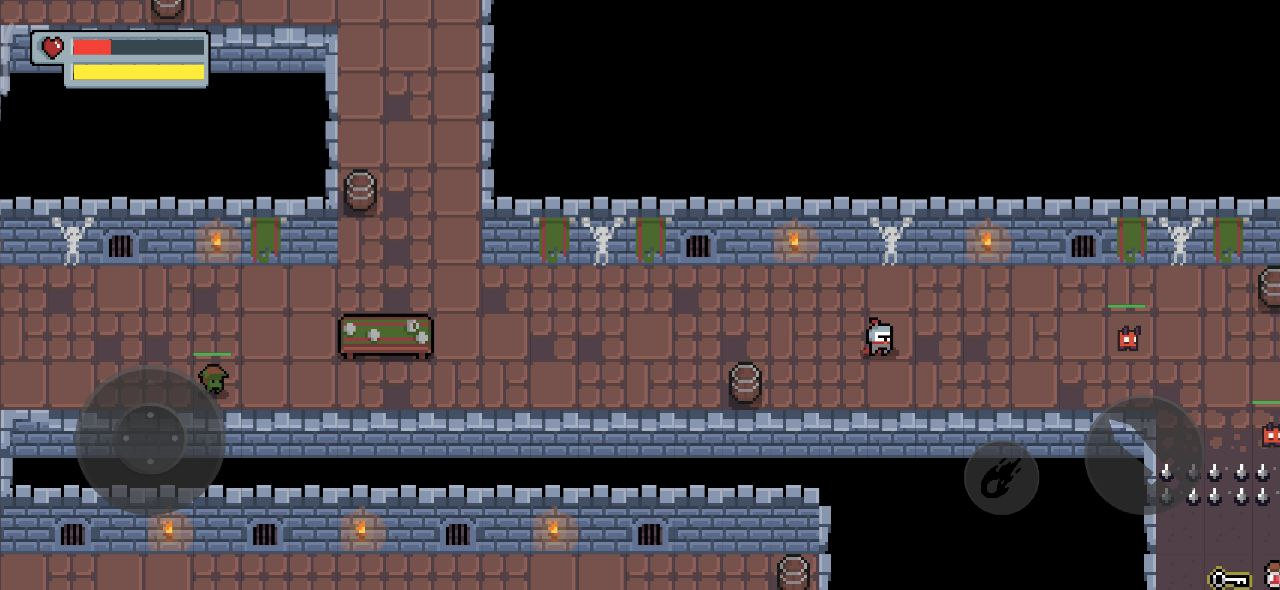 Game RPG build by Flame Flutter