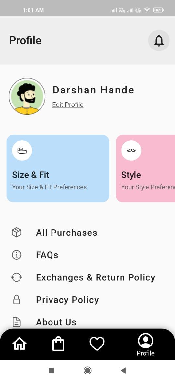 LookBook Assignment app built with flutter