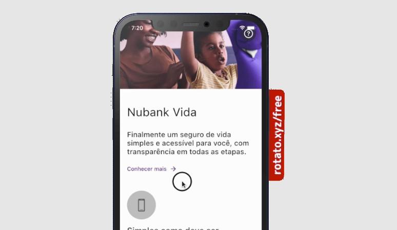 A Flutter App designed based on Nubank Vida