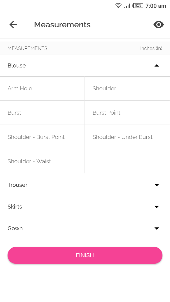 Managing a Fashion designer's daily routine app with flutter