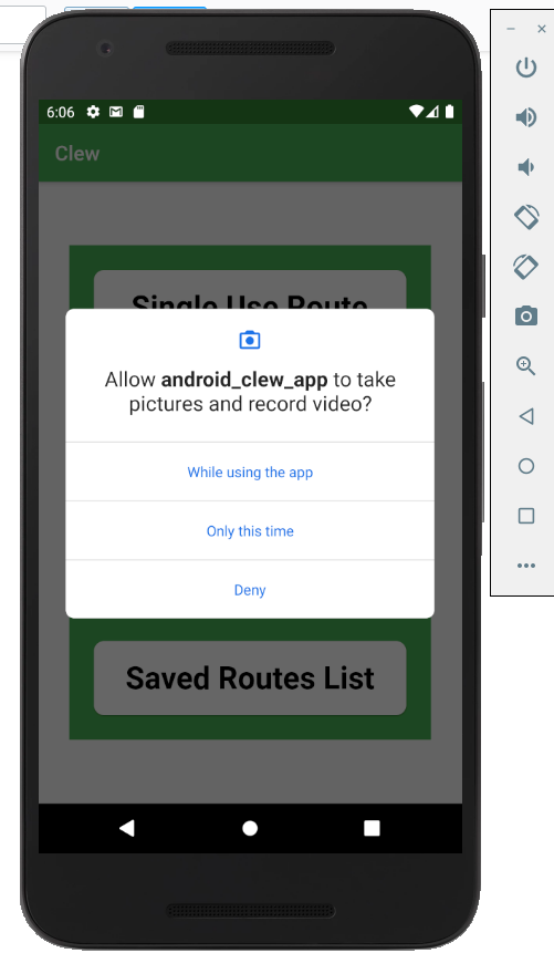Android/multiplatform version of the Clew App With Flutter