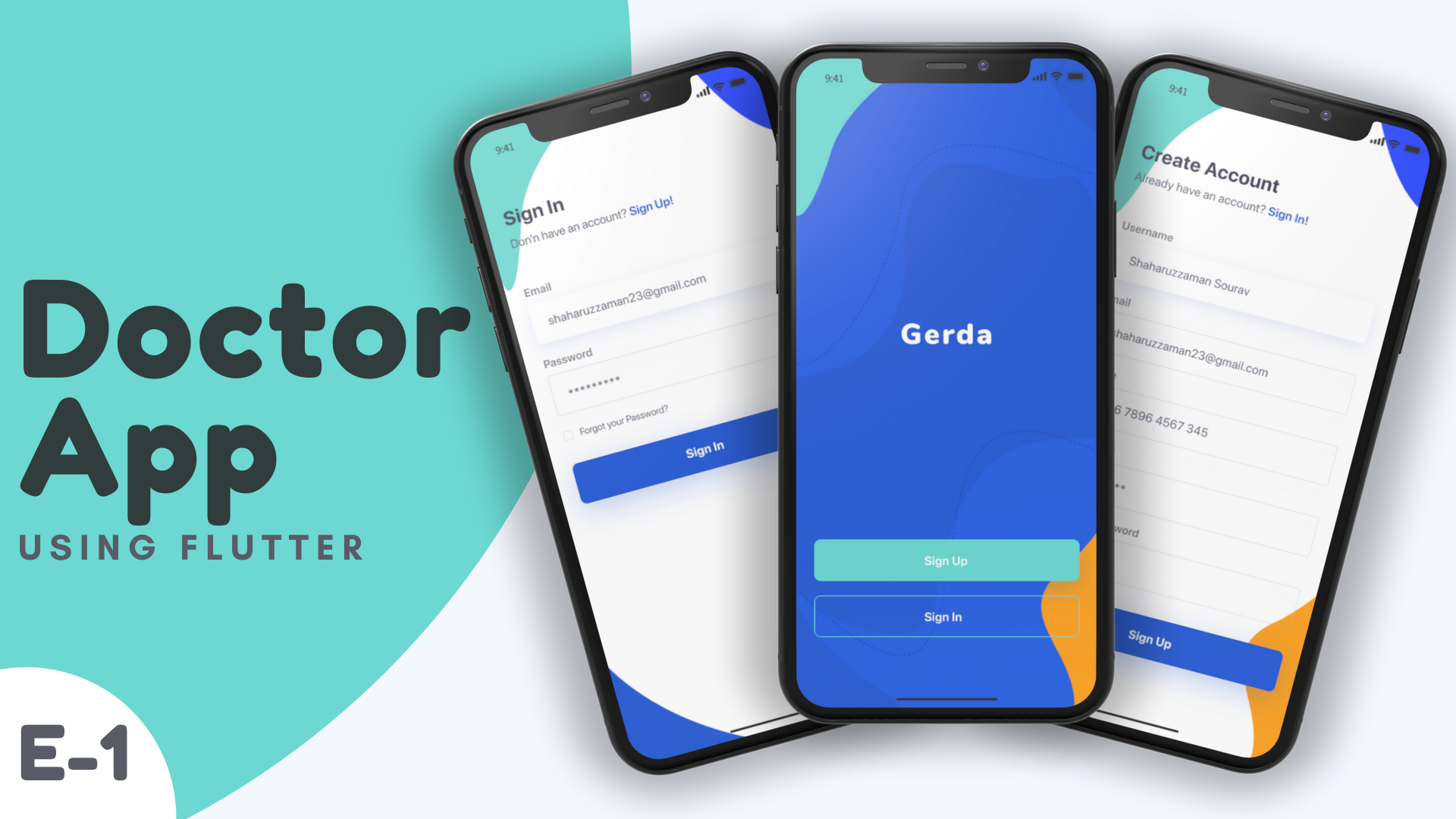 Building Production-Ready Healthcare/ Doctor Consult Android and iOS app UI using Flutter