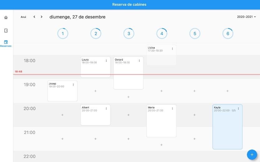 A multiplatform app for cabin booking with flutter