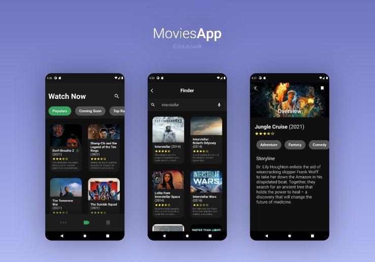 MoviesApp based on themoviedb API With Flutter