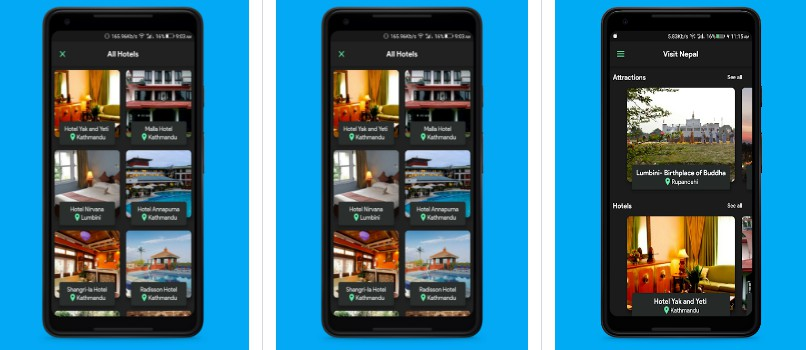 Visit Nepal : Tourism app made with Flutter and Django